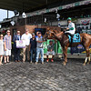 Promises Fulfilled wins the 2019 John A. Nerud Stakes at Belmont Park<br /> Coglianese Photos