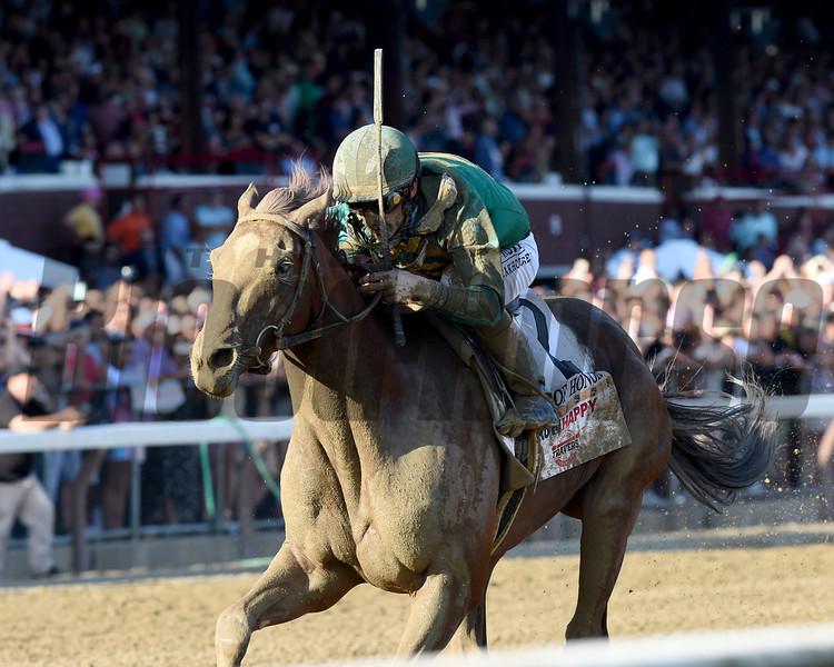 Code of Honor wins the 2019 Travers Stakes at Saratoga<br /> Coglianese Photos/Adam Mooshian