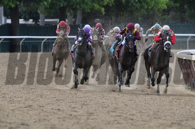 Preservationist wins the 2019 Suburban Stakes at Belmont Park<br /> Coglianese Photos/Rob Mauhar