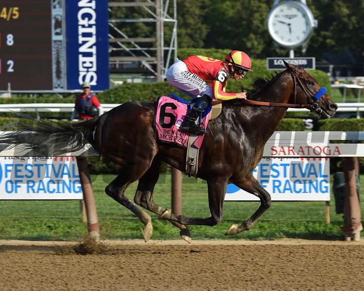 McKinzie wins the 2019 Whitney Stakes at Saratoga <br /> Coglianese Photos/Chris Rahayel