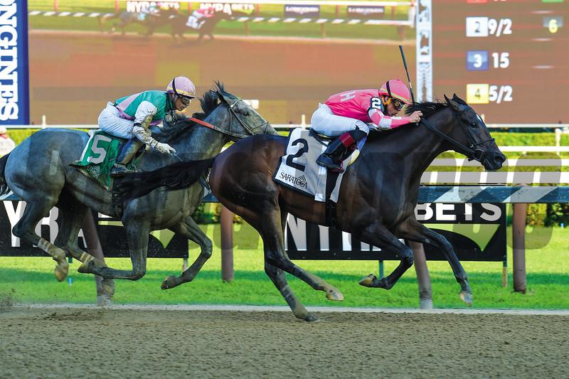 Tax, Irad Ortiz, Jr., Jim Dandy Stakes, G2, Saratoga Race Course, July, 27, 2019