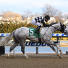 Bavaro wins 2019 Hollie Hughes Stakes at Aqueduct Racetrack. Coglianese Photos/Susuie Raisher