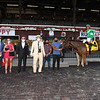 My Sister Nat wins the 2020 Waya Stakes at Saratoga. Photo: Coglianese Photos