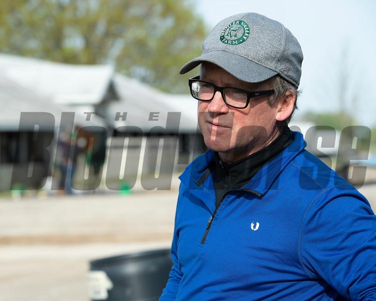 Caption: Brendan Walsh<br /> Keeneland scenes and horses on April 25, 2020 Keeneland in Lexington, KY.