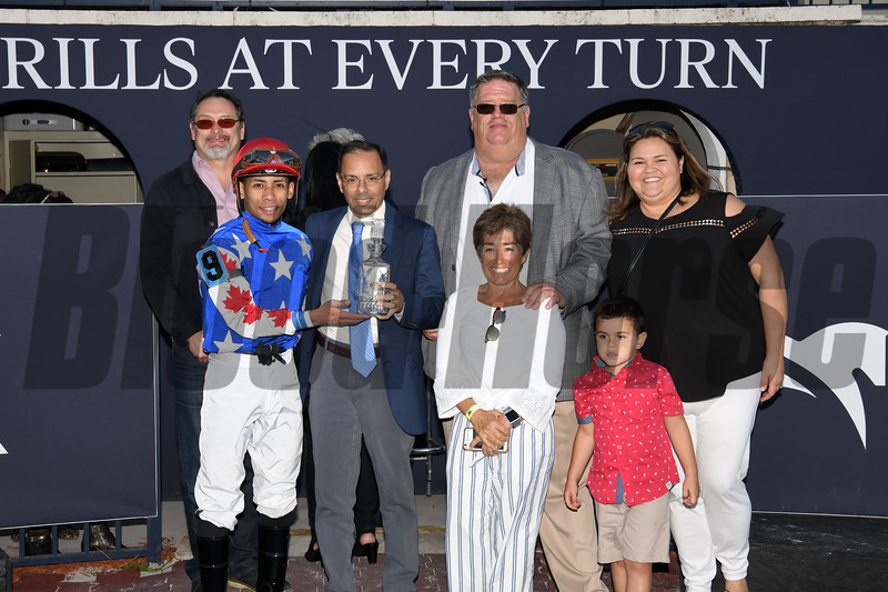 Mr Freeze wins the 2020 Gulfstream Park Mile Stakes at Gulfstream Park. Photo: Coglianese Photos