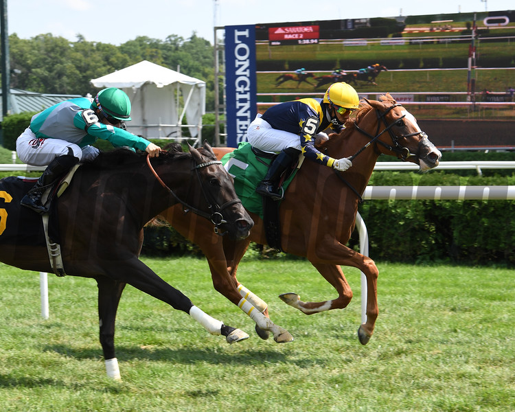 Seasons - Maiden Win, Saratoga, August 9, 2020<br /> Coglianese Photos
