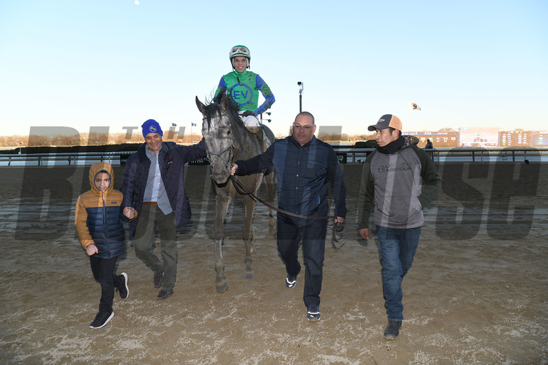 Water White wins the 2020 Busher Stakes at Aqueduct<br /> Coglianese Photos