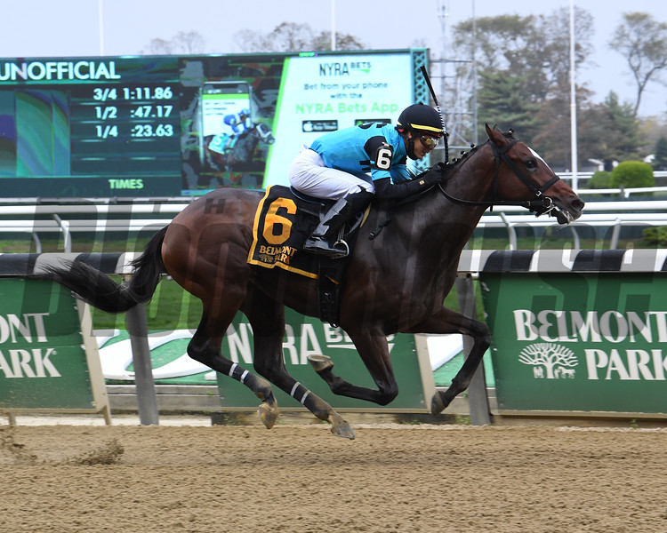Brooklyn Strong wins the 2020 Sleepy Hollow Stakes at Belmont Park<br /> Coglianese Photos/Susie Raisher