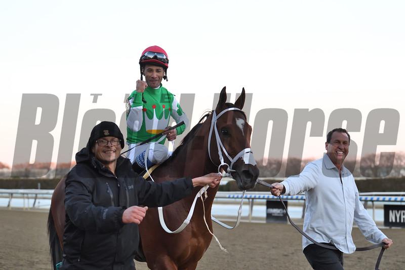 Mischevious Alex wins the 2020 Gotham Stakes at Aqueduct<br /> Coglianese Photos/Susie Raisher