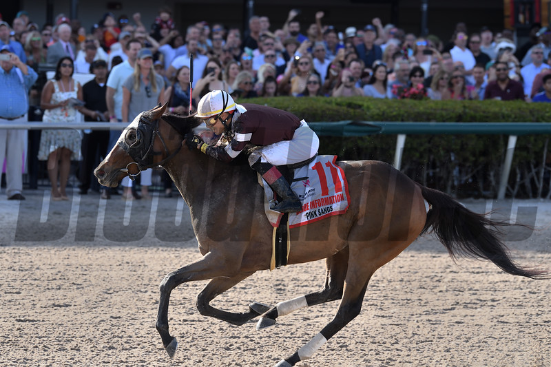 Pink Sands wins the 2020 Inside Information Stakes at Gulfstream Park      <br /> Coglianese Photos/Derbe Glass