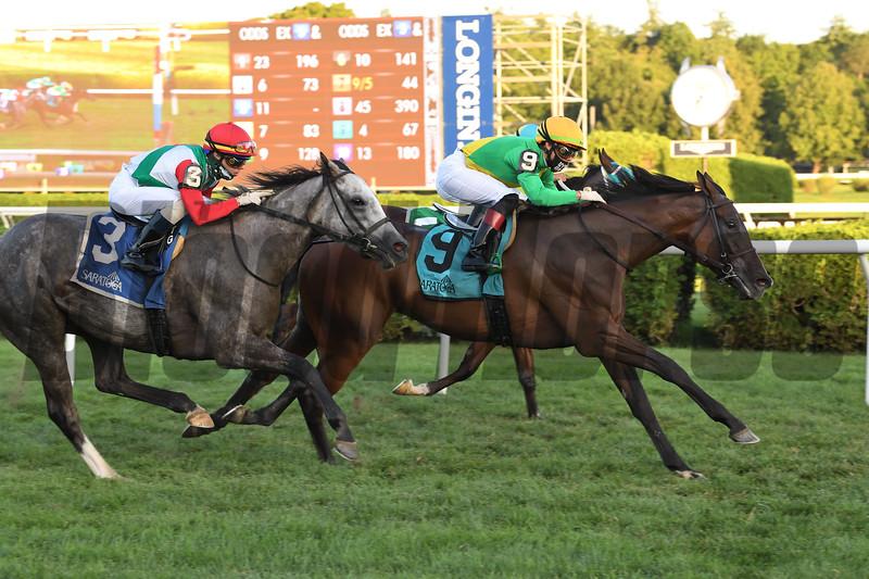 Cariba wins the 2020 Caress Stakes at Saratoga<br /> Coglianese Photos