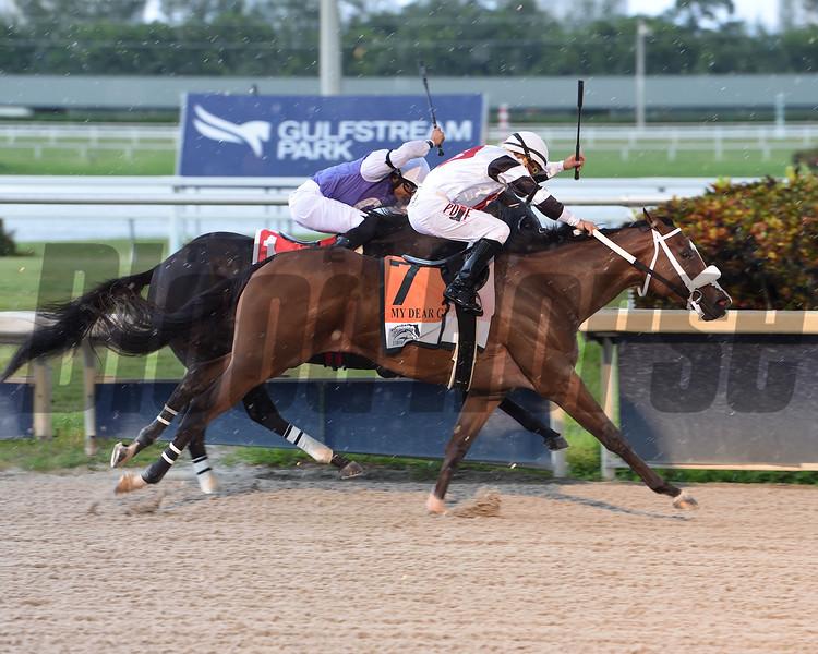 Princess Secret wins the 2020 FTBOA Florida Sire My Dear Girl Stakes<br /> Coglianese Photos/Lauren King
