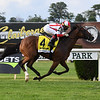 Newspaperofrecord wins the 2020 Just a Game Stakes at Belmont Park<br /> Coglianese Photos/Susie Raisher