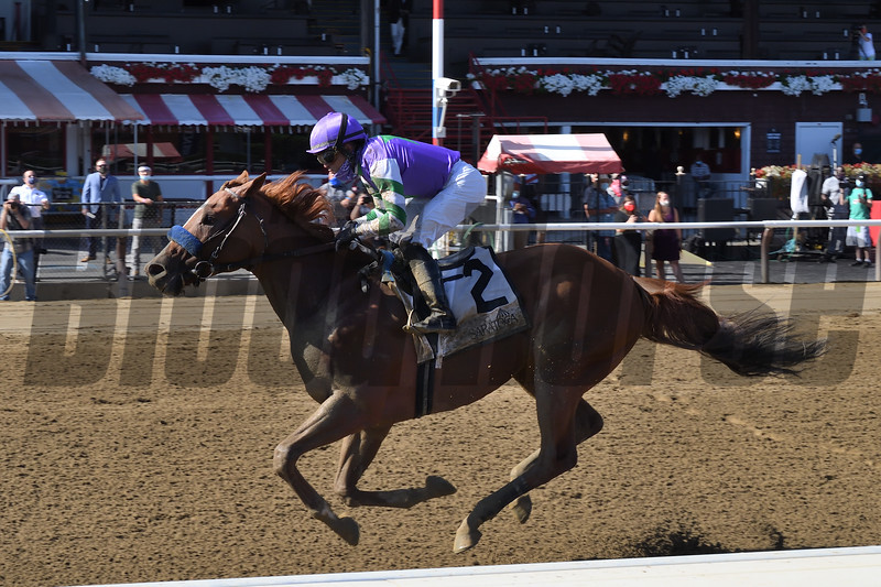 Stan the Man wins the 2020 Tale of the Cat Stakes at Saratoga<br /> Coglianese Photos/Chelsea Durand
