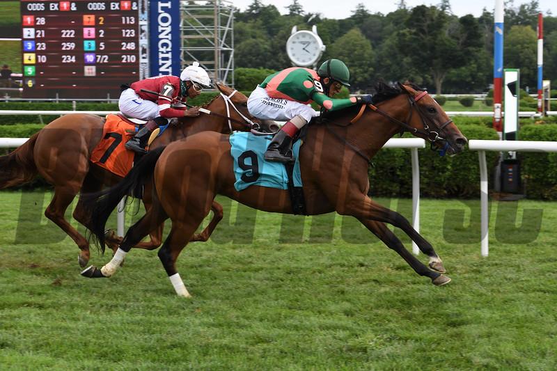 Invincible Gal - Maiden Win, Saratoga, August 7, 2020<br /> Coglianese Photos
