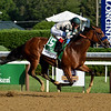 Gamine wins the 2020 Test Stakes at Saratoga<br /> Coglianese Photos/Chris Rahayel