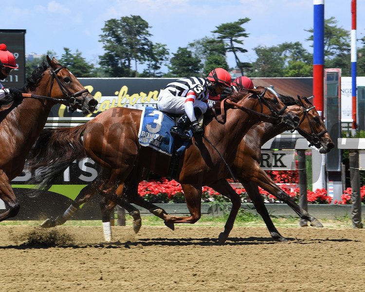 Frank's Rockette wins the 2020 Victory Ride at Belmont Park<br /> Coglianese Photos