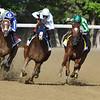 Improbable wins the Whitney Stakes Saturday, August 1, 2020 at Saratoga. Photo: Coglianese Photos/Elsa Lorieul