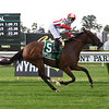Newspaperofrecord wins the 2020 Intercontinental Stakes at Belmont Park<br /> Coglianese Photos/Susie Raisher