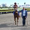 Atomic Blonde wins 2020 South Beach Stakes at Gulfstream Park. Photo: Coglianese Photos
