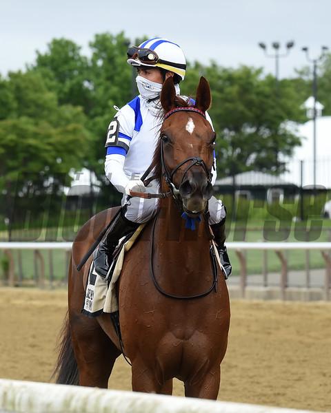 Ratajkowski wins the 2020 Critical Eye Stakes at Belmont Park<br /> Coglianese Photos/Chelsea Durand