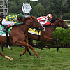 Domestic Spending wins the Saratoga Derby Invitational Saturday, August 15, 2020 at Saratoga Race Course. Photo: Coglianese Photos