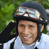 Edgar Prado - Gulfstream Park, March 26, 2020  <br /> Coglianese Photos/Nicole Thomas