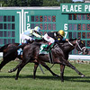 Aquaphobia with Joe Bravo win the 67th Running of the United Nations (GI) at Monmouth Park on July 18, 2020. Photo By: Chad B. Harmon