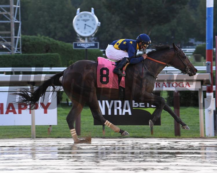 Spun d'Etat - Maiden Win, Saratoga, August 29, 2020<br /> Coglianese Photos