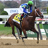 Jackie's Warrior wins the 2020 Champagne Stakes at Belmont Park<br /> Coglianese Photos