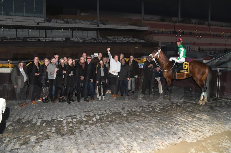 Mischevious Alex wins the 2020 Gotham Stakes at Aqueduct<br /> Coglianese Photos