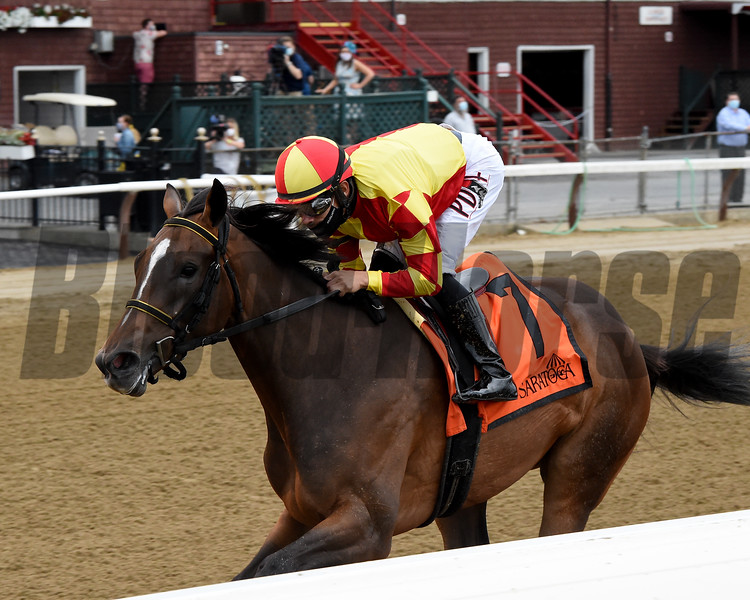 Dayoutoftheoffice wins the 2020 Schuylerville Stakes at Saratoga<br /> Coglianese Photos/Chelsea Durand