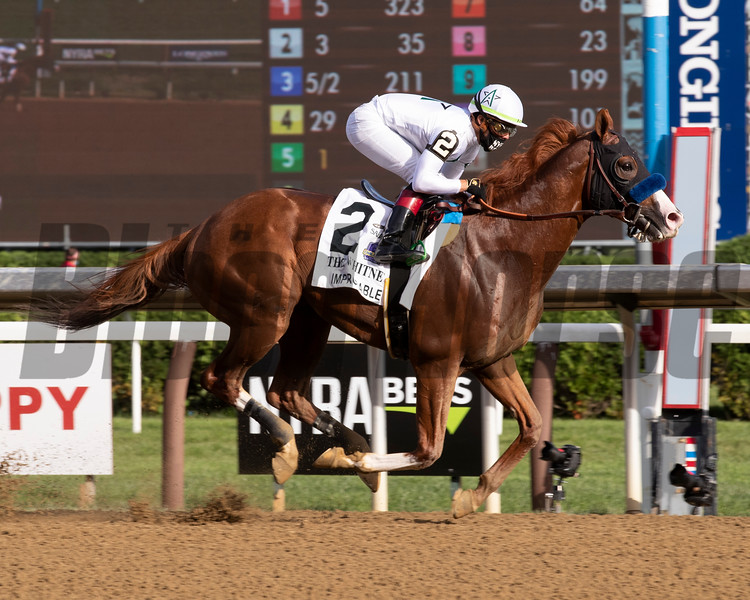 Improbable wins the 2020 Whitney at Saratoga<br /> Coglianese Photos/Janet Garaguso
