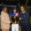 Arthur's Hope wins the 2020 Say Florida Sandy Stakes at Aqueduct. Photo: Coglianese Photos