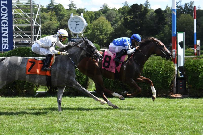 Threepointninenine - Maiden Win, Saratoga, August 20, 2020<br /> Coglianese Photos