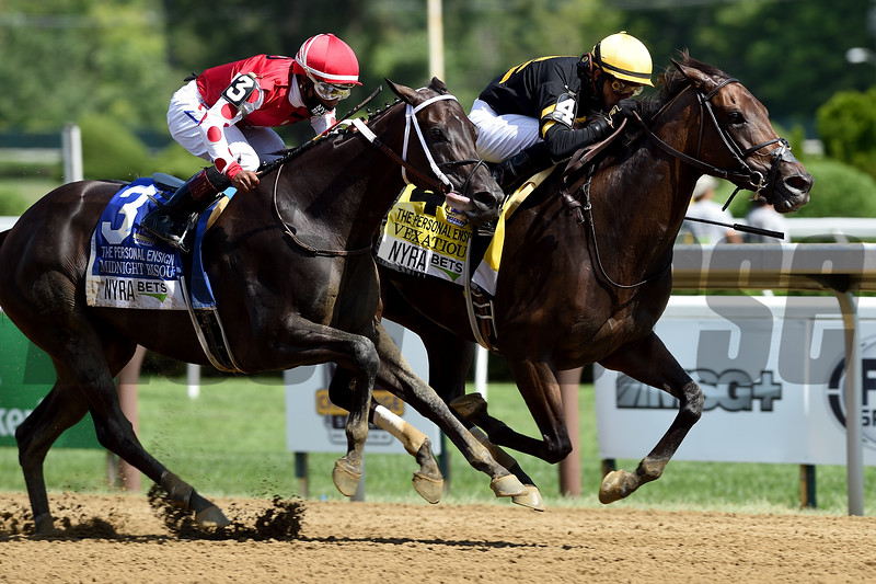 Vexatious wins the 2020 Personal Ensign Stakes at Saratoga<br /> Coglianese Photos