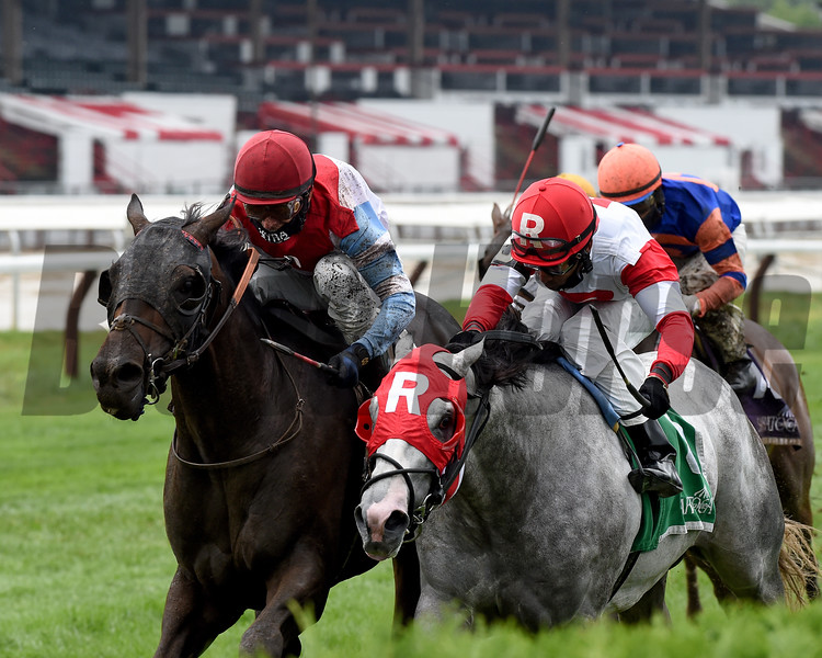 Bye Bye Melvin wins the 2020 Saranac Stakes at Saratoga<br /> Coglianese Photos/Chelsea Durand