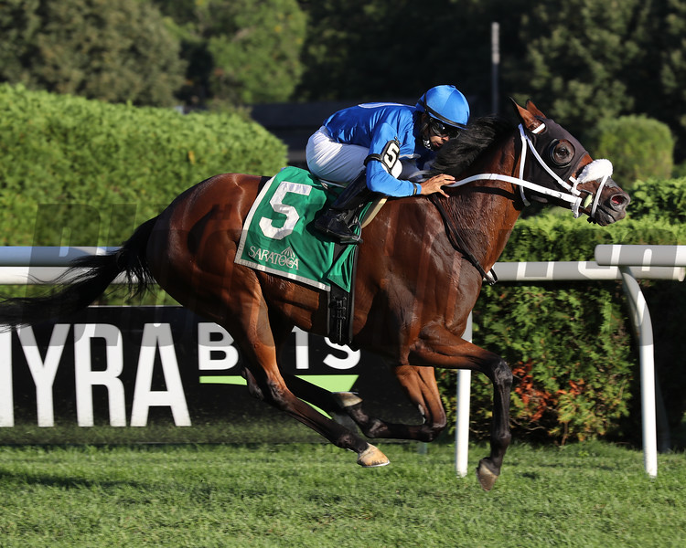 Rinaldi wins the West Point Stakes at Saratoga<br /> Coglianese Photos/Janet Garaguso