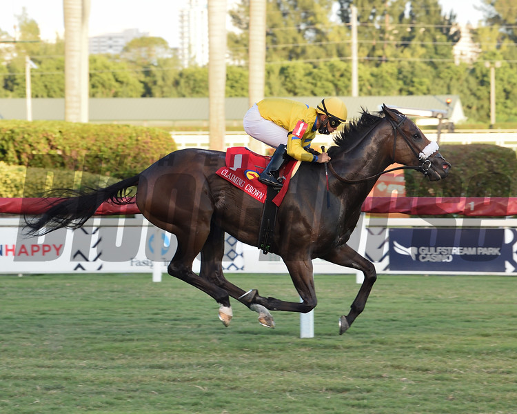 Fiya wins the 2020 Claiming Crown Canterbury Stakes<br /> Coglianese Photos/Lauren King