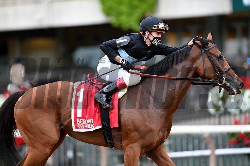 Tamahere wins the 2020 Sands Point Stakes at Belmont Park<br /> Coglianese Photos/Joe Labozzetta