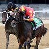 Dayoutoftheoffice wins the 2020 Frizette Stakes at Belmont Park<br /> Coglianese Photos/Joe Labozzetta
