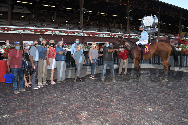 Adios Amigos - Maiden Win, Saratoga, July 30, 2020<br /> Coglianese Photos