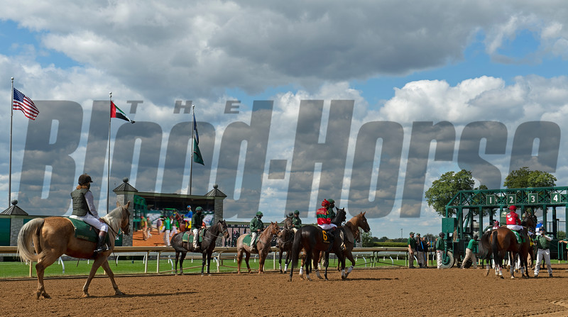 going to post<br /> Scenes at Keeneland  on October 3, 2020.