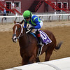 Jackie's Warrior wins the 2020 Saratoga Special<br /> Coglianese Photos/Chelsea Durand