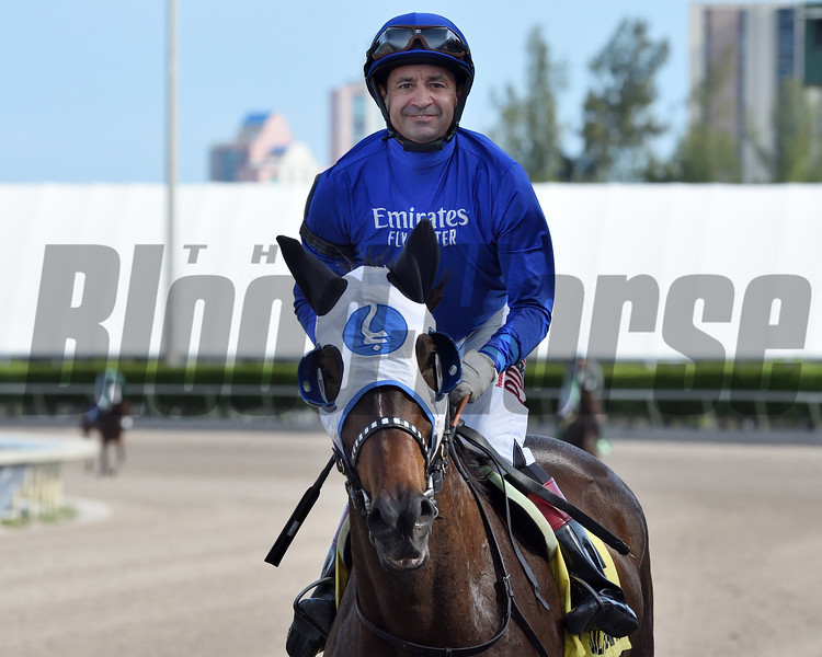Micheline wins the 2020 Honey Ryder Stakes at Gulfstream Park <br /> Coglianese Photos/Ryan Thompson