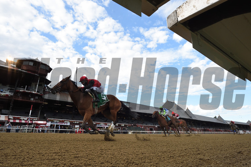 Frank's Rockette wins the 2020 Prioress Stakes at Saratoga <br /> Coglianese Photos
