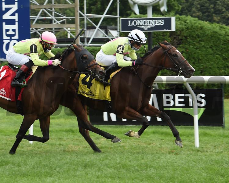 Classic Lady wins the 2020 Dayatthespa Stakes at Saratoga<br /> Coglianese Photos/Susie Raisher