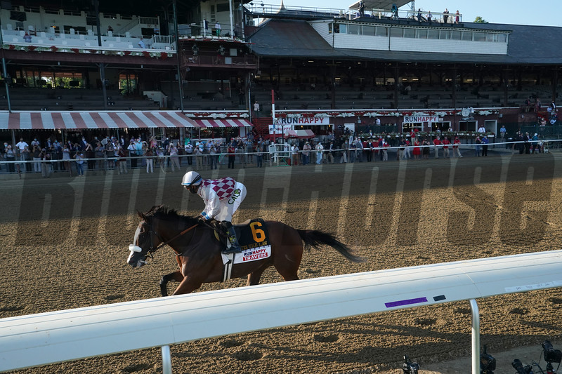 Tiz the Law wins the 2020 Travers Stakes<br /> Coglianese Photos/Stacey Heatherington