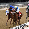 Happy Saver wins the 2020 Jockey Club Gold Cup at Belmont Park <br /> Coglianese Photos/Chelsea Durand