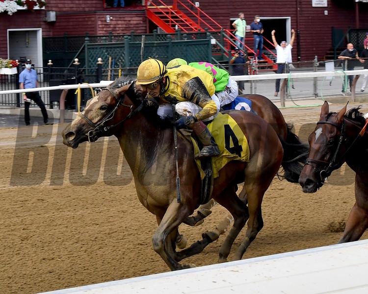 Union Gables - Maiden Win, Saratoga, August 9, 2020<br /> Coglianese Photos/Chelsea Durand